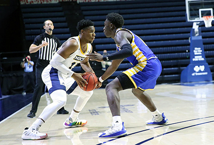 Men's Basketball Rolls Past Lander 99-63