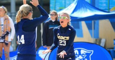 Seven Chattanooga Beach Volleyball Student-Athletes Named to OVC Commissioners Honor Roll